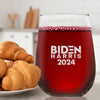Biden Harris 2024 - Wine Glass