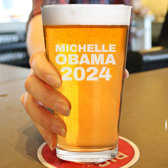 Michelle Obama 2024 - Pint Glass
