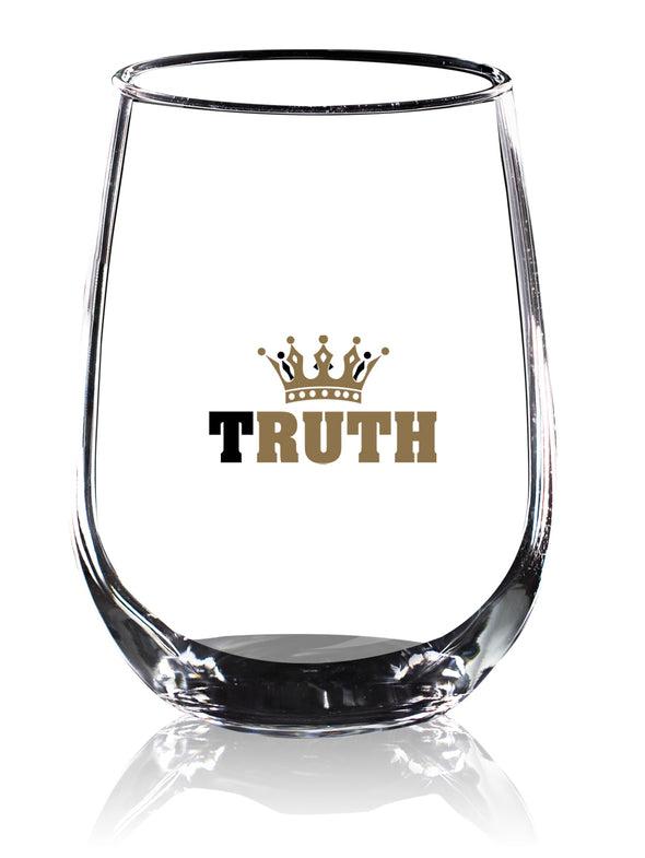 Truth Crown in Color - Wine Glass