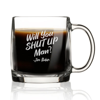 Will You Shut Up Man - Nordic Mug