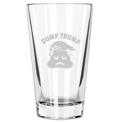 Dump Trump Poop - Pint Glass
