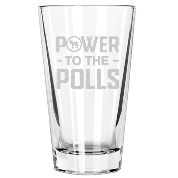 Power to the Polls - Pint Glass