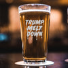 Trump Meltdown - Pint Glass