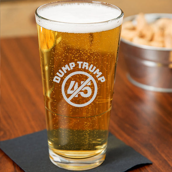 Dump Trump 45 - Pint Glass
