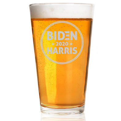 Biden Harris 2020 Circle - Pint Glass