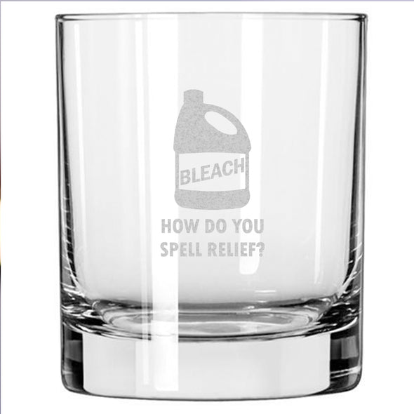 Bleach - How Do You Spell Relief - Whiskey Glass