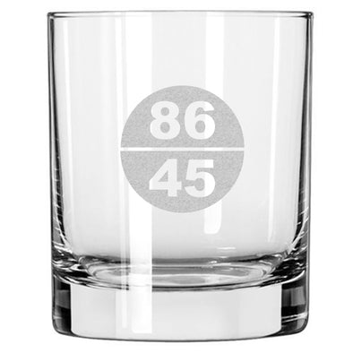 86 45 - Whiskey Glass
