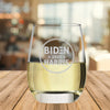 Biden Harris 2020 Circle - Wine Glass