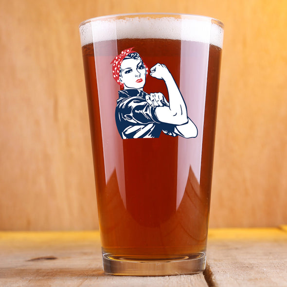 Rosie the Riveter - Pint Glass