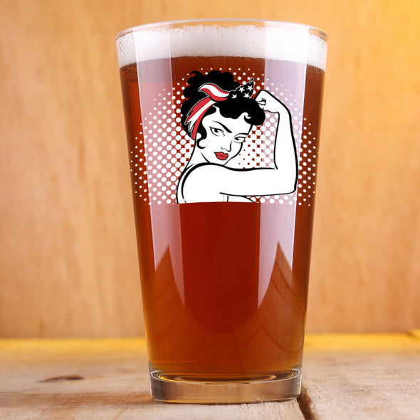 Rosie the Modern Woman - Pint Glass