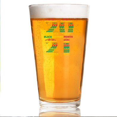 Black History Month 2021 - Pint Glass