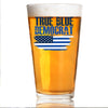 True Blue Democrat - Pint Glass