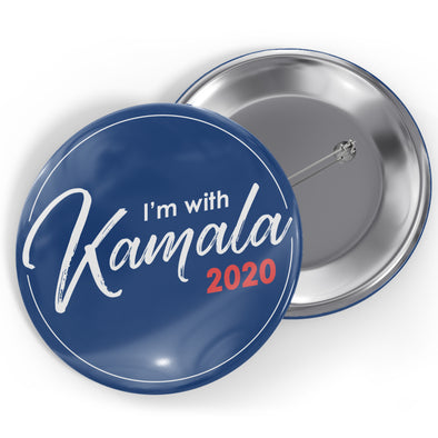 I'm With Kamala 2020 Button