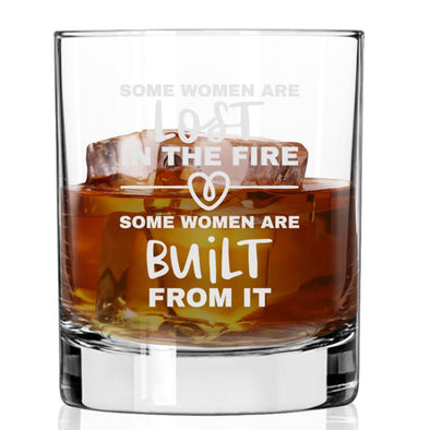 Some Women are Lost in the F… Built From It - Whiskey Glass