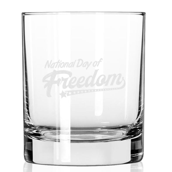 National Day of Freedom - Whiskey Glass