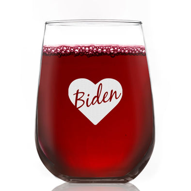 Biden Love - Wine Glass