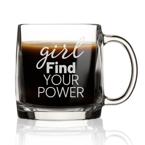 Girl Find Your Power - Nordic Mug
