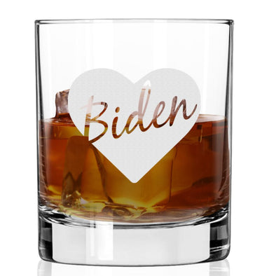 Biden Love - Whiskey Glass
