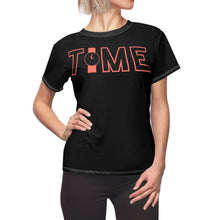 Load image into Gallery viewer, Time Black Women's T-Shirt
