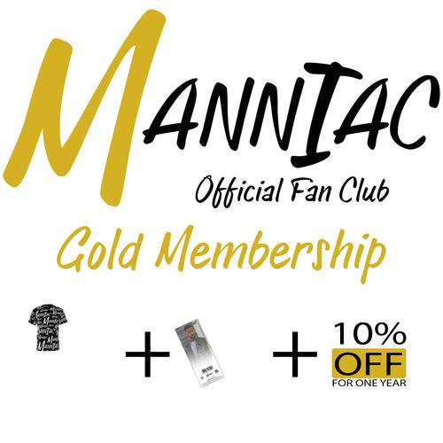Official Manniac Membership - Gold