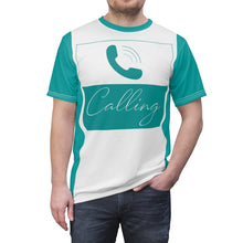 Load image into Gallery viewer, Limited Edition Calling Men's T-Shirt - Teal