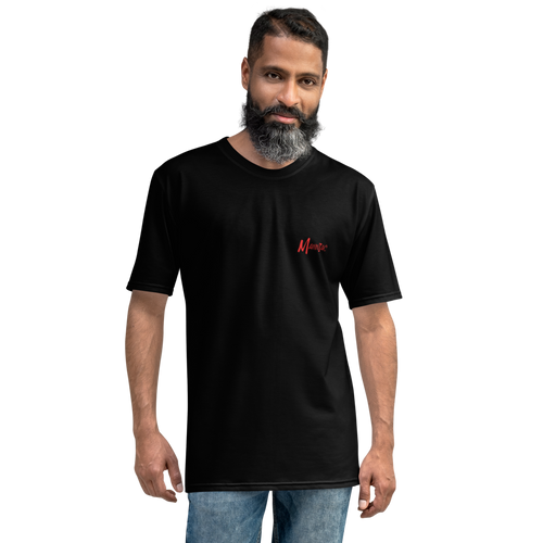 MANNIAC Essentials Men's T-Shirt - Black