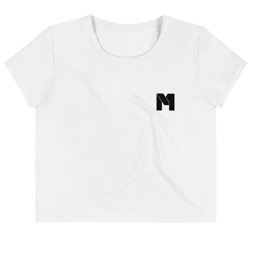 CLASSIC M Essentials Women's Crop Tee - White