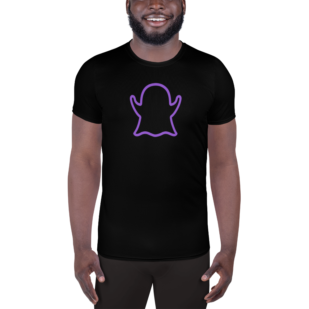 Ghost Limited Edition Men's Athletic T-Shirt - Black