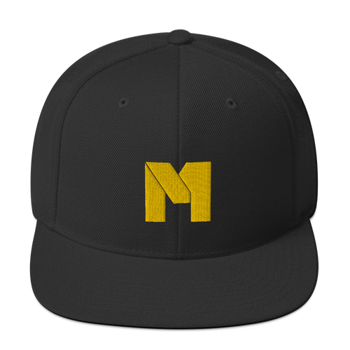 CLASSIC M Essentials Snapback - Black