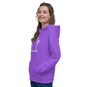 Ghost Limited Edition Unisex Hoodie - Purple