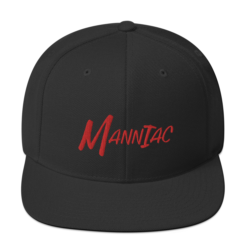 MANNIAC Essentials Snapback - Black