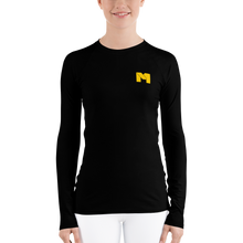 Load image into Gallery viewer, CLASSIC M Essentials Women's Long Sleeve - Black