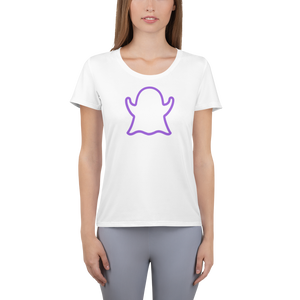 Ghost Limited Edition Women's Athletic T-Shirt - White