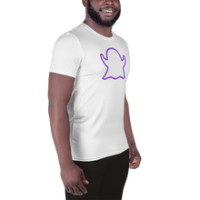 Load image into Gallery viewer, Ghost Limited Edition Men's Athletic T-Shirt - White