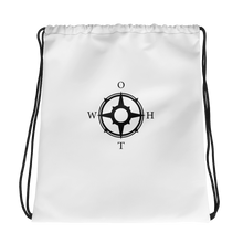Load image into Gallery viewer, OTWH Essentials Drawstring Bag - White