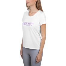 Load image into Gallery viewer, Ghost Wordmark Limited Edition Women's Athletic T-Shirt - White