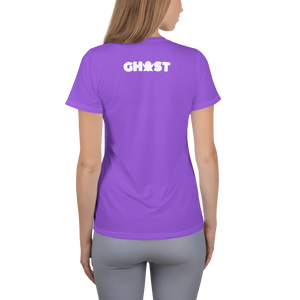 Ghost Limited Edition Women's Athletic T-Shirt - Purple