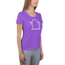Load image into Gallery viewer, Ghost Limited Edition Women's Athletic T-Shirt - Purple