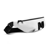 Load image into Gallery viewer, CLASSIC M Essentials Fanny Pack - White