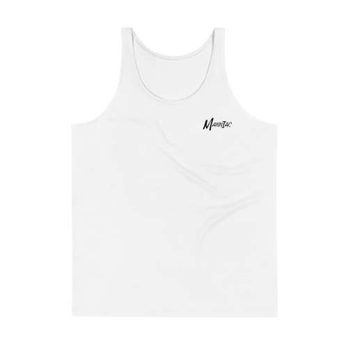 MANNIAC Essentials Men's Tank Top - White