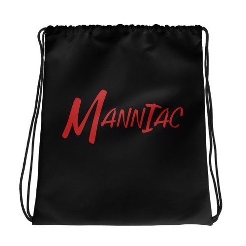 MANNIAC Essentials Drawstring Bag - Black