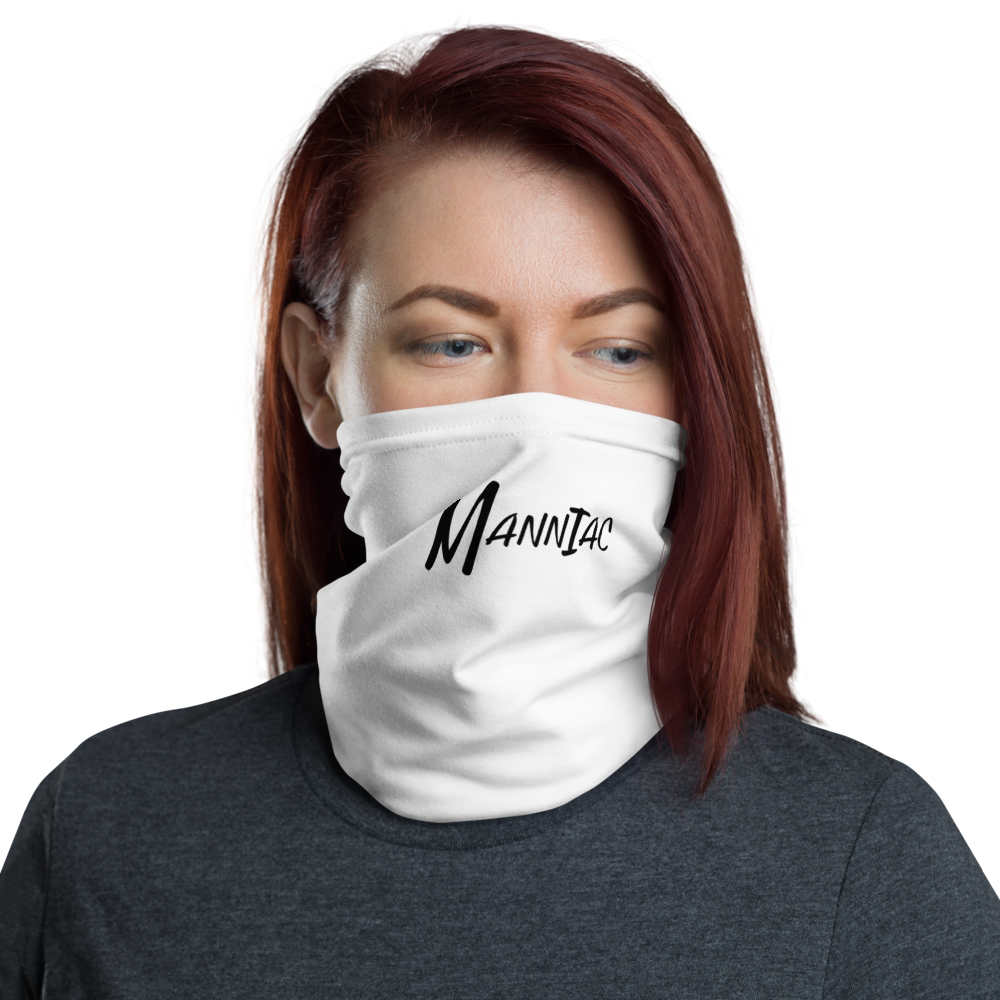 MANNIAC Essentials Neck Gaiter - White