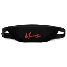 Load image into Gallery viewer, MANNIAC Essentials Fanny Pack - Black