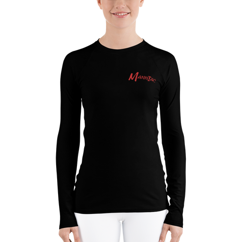 MANNIAC Essentials Women's Long Sleeve - Black
