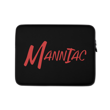 Load image into Gallery viewer, MANNIAC Essentials Laptop Sleeve - Black