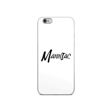 Load image into Gallery viewer, MANNIAC Essentials iPhone Case - White