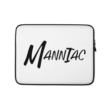 Load image into Gallery viewer, MANNIAC Essentials Laptop Sleeve - White
