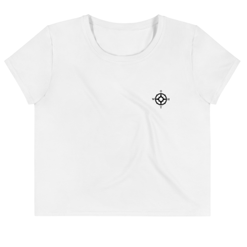 OTWH Essentials Women's Crop Tee - White