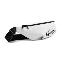 Load image into Gallery viewer, MANNIAC Essentials Fanny Pack - White