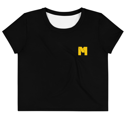 CLASSIC M Essentials Women's Crop Tee - Black